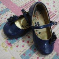 Sapatinho de Boneca Azul Marinho - 23 - Pampili