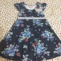 Vestido Florido - 3 anos - Carinhoso