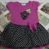 Vestido Bonnie Jean - Semi-Novo - 3 anos - Bonnie Jean