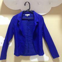 Blazer Azul Royal - 6 anos - Sem marca