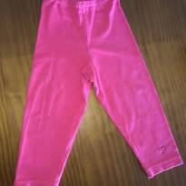 Legging rosa - 9 a 12 meses - Baby Way