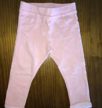 Calça skinny rosa Zara - 9 a 12 meses - Zara Baby e Zara