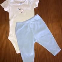 Conjunto de body e calça Carter's - 3 meses - Carter`s