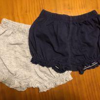 Kit de dois shorts Carter`s - 3 meses - Carter`s