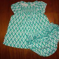 Conjunto blusinha + tapa-fralda Carter`s - 3 meses - Carter`s