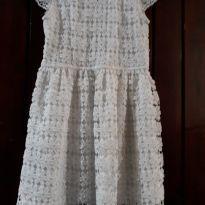 Vestido branco - 5 anos - Fuzarka