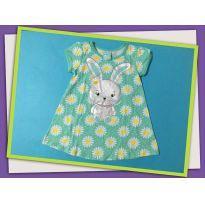 Pijama verde de coelho - 18 meses - Kyly