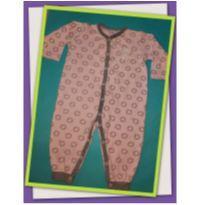 Body rosa de ursinho - 3 a 6 meses - Tilly Baby