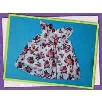 Vestido Florido - 3 a 6 meses - Tip Top