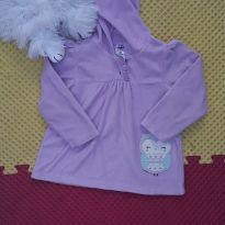 Blusa Fleece lilas com capuz Carte s - 24 a 36 meses - Child of Mine