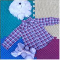Camisa Zara - 6 a 9 meses - Zara Baby