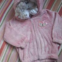 Blusa felpuda Rosa - 18 a 24 meses - Alô bebê