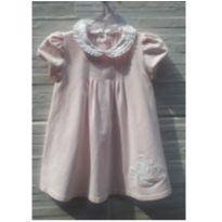 Vestidinho delicado rosa - 18 a 24 meses - Chicco