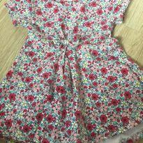 Vestido florido - 9 a 12 meses - Cea, click house