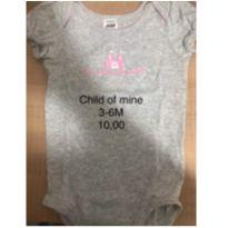 Body Child of Mine - 3 a 6 meses - Child of Mine