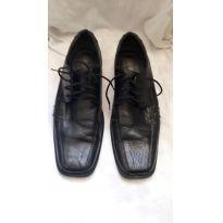 Sapato Social Juvenil - 36 - Não informada