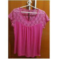 Blusa pink - G - 44 - 46 - Não informada