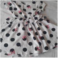 Vestido de Bolinha - 12 a 18 meses - Não informada