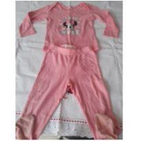 Conjunto da Minnie - 12 a 18 meses - Disney baby