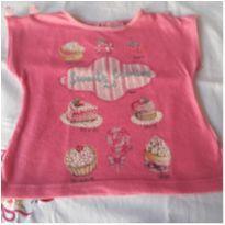 Blusinha rosa - 1 ano - Momi