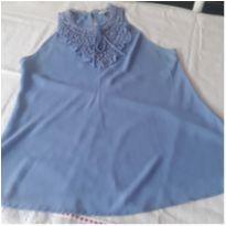 Blusinha Azul - G - 44 - 46 - Não informada