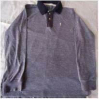 Camiseta Polo - 6 anos - Onda Marinha