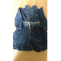 Vestido jeans Zig mundo TAM 2 anos - 2 anos - ZigMundi