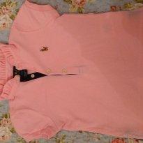Blusa rosa polo Ralph Lauren - 2 anos - Ralph Lauren