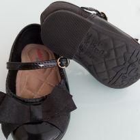 Sapato de laço preto - 19 - Molekinha