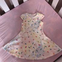 Vestido de borboletas - 18 a 24 meses - Mon Sucré