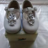 Sapato Branco Dia-a-dia - 20 - Meli