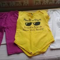 Kit roupas usadinhas - 1 ano - Não informada