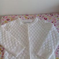 Blusa tricô Branca Unissex- linda! - 3 anos - Noruega Baby