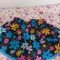 Short piscina floral - 2 anos - Não informada