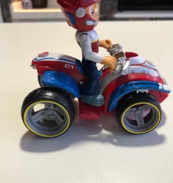 Patrulha Canina - Ryder e sua moto - Sem faixa etaria - Mattel