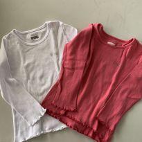 2 camisetas manga longa PUC - 1 ano - PUC