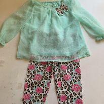 Conjunto baby girl - 18 meses - Healthtex