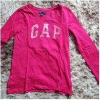 Camiseta manga longa GAP - 9 anos - GAP