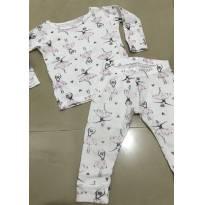 Pijama Bailarina - 9 meses - Carter`s