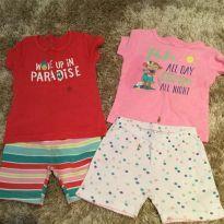 2 Conjuntos de pijama curto - 18 meses - Carter`s
