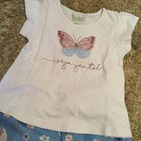 Conjunto tactel borboleta - 3 anos - Jaca lele