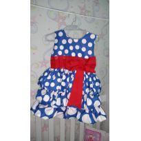 Vestido da Galinha Pintadinha Balonê +Tiara - 1 ano - Ana Giovanna