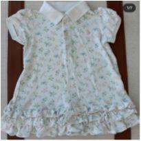 Vestido Ralph Lauren Flores - 9 meses - Ralph Lauren