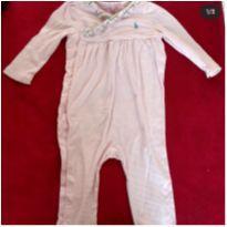 Macacão Ralph Lauren Rosa - 9 meses - Ralph Lauren