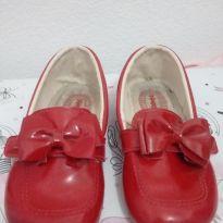 Sapato vermelho - 24 - Pimpolho