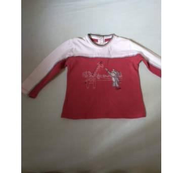 Blusa vinho manga longa menino Chicco - 1 ano - Chicco