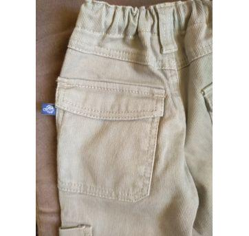 Calça menino tipo veludo - 1 ano - Planeta Kids