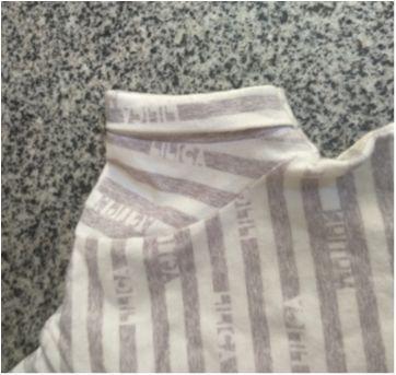 Blusa listrada cinza Lilica original - 24 a 36 meses - Lilica Ripilica