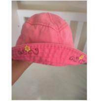 Chapéu brim rosa