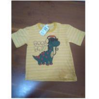 Camiseta nova - 4 anos - Não informada